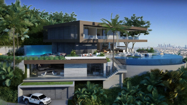 Ultra Modern House Floor Plans Stanley Ir Architects Architecture Portfolio Los